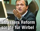 Ernst Strasser als Innenminister, 2003