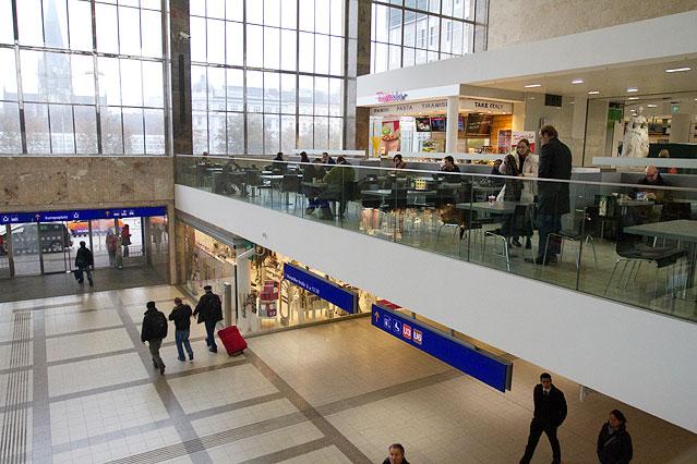 Foodcourt im Westbahnhof
