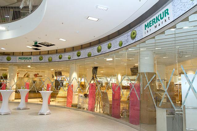 Merkurmarkt im Westbahnhof