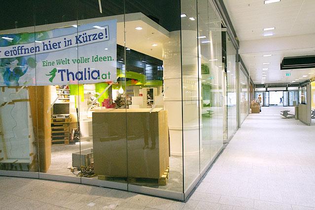 Buchhandlung Thalia im Westbahnhof