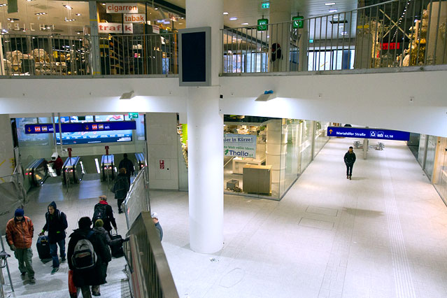 Shoppingcenter im Westbahnhof