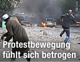 Demonstranten in Kairo