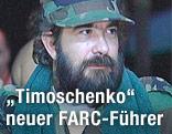 FARC-Führer Timoleon Jimenez in Uniform