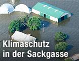 Überflutete Farm