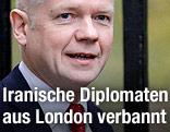 Britischer Außenminister William Hague