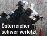 KFOR-Soldaten aus Deutschland und Österreich