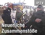 Serben und KFOR-Soldaten geraten aneinander