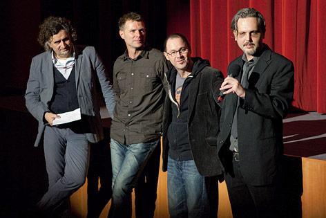 Regisseure Joachim Krenn und Gerhard Fillei bei der Premiere