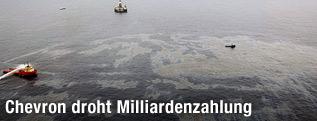 Ölleck vor Brasiliens Küste