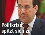 Schiitischer Regierungschef Nuri al-Maliki
