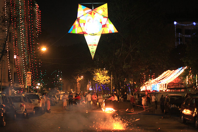 Silvesterfeiern in Mumbai