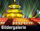 Silvesterfeiern in Peking