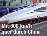Chinesischer Hochgeschwindigkeitszug