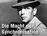 "Humphrey Bogart aus dem Film ""Casablanca"""