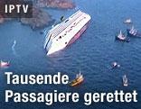 "Schiffsunglück der ""Costa Concordia"""