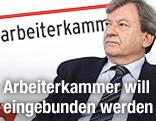 Der Präsident der AK Wien Herbert Tumpl