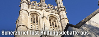 Turm der Kapelle des Magdalen College von Oxford