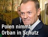 Polens Ministerpräsident Donald Tusk