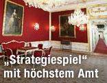 Die Amtsräume des Bundespraesidenten im Leopoldinischen Trakt der Wiener Hofburg