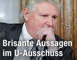 U-Ausschuss-Zeuge Christian Singer, Beamter des Infrastrukturministeriums