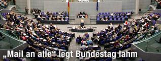 Bundestag in Deutschland
