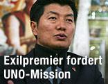 Exiltibetischer Ministerpräsident Lobsang Sangay
