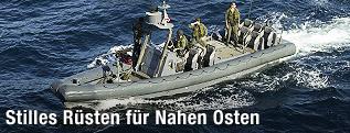 US Navy Seals im Schlauchboot