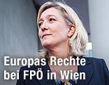 """Parteichefin der französischen """"Front National"""", Marine Le Pen"""