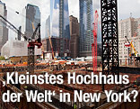 Baustelle am Ground Zero in New York