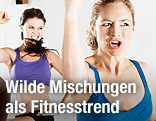Frauen beim Fitness-Training