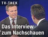ZIB2 Armin Wolf und Heinz-Christian Strache Bundesparteiobmann FPÖ