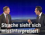 ZIB2 mit Armin Wolf und Heinz-Christian Strache Bundesparteiobmann FPÖ