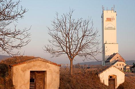 Lagerhaus und Weinkeller