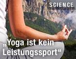 Yoga-Praktizierender