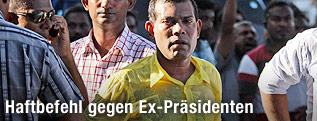 Ex-Präsident der Malediven Mohamed Nasheed