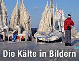 Vereiste Boote am Genfer See