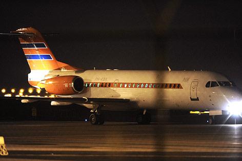 Der niederländische Regierungsflieger