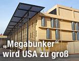 Außenansicht der US-Botschaft in Bagdad