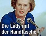 Margaret Thatcher 1979 als britische Premierministerin