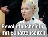 Julia Timoschenko auf der Anklagebank