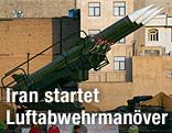 Iranische Luftabwehrraketen
