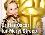 Meryl Streep nach der Oscar-Verleihung