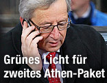 Jean-Claude Juncker, Chef der Euro-Finanzminister