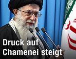 Das geistliche Oberhaupt des Iran, Ajatollah Ali Khamenei