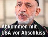 Afghanischer Präsident Karzai