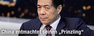 Bo Xilai, kommunistischer Parteichef der chinesischen Metropole Chongqing