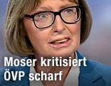 Gabriele Moser, Vorsitzende des Korruptions-U-Ausschusses