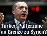 Türkischer Ministerpräsident Tayyip Erdogan