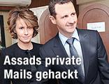Bashar al-Assad und seine Ehefrau