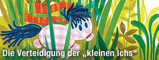 """Der Held aus dem Kinderbuch """"Das Kleine Ich bin ich"""" von Mira Lobe"""